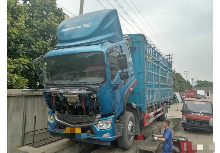 福田歐馬可歐馬可S5 載貨車  168匹 2018年06月 4x2