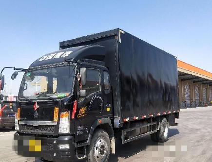 中國重汽HOWO 載貨車  170匹 2017年11月 6x4