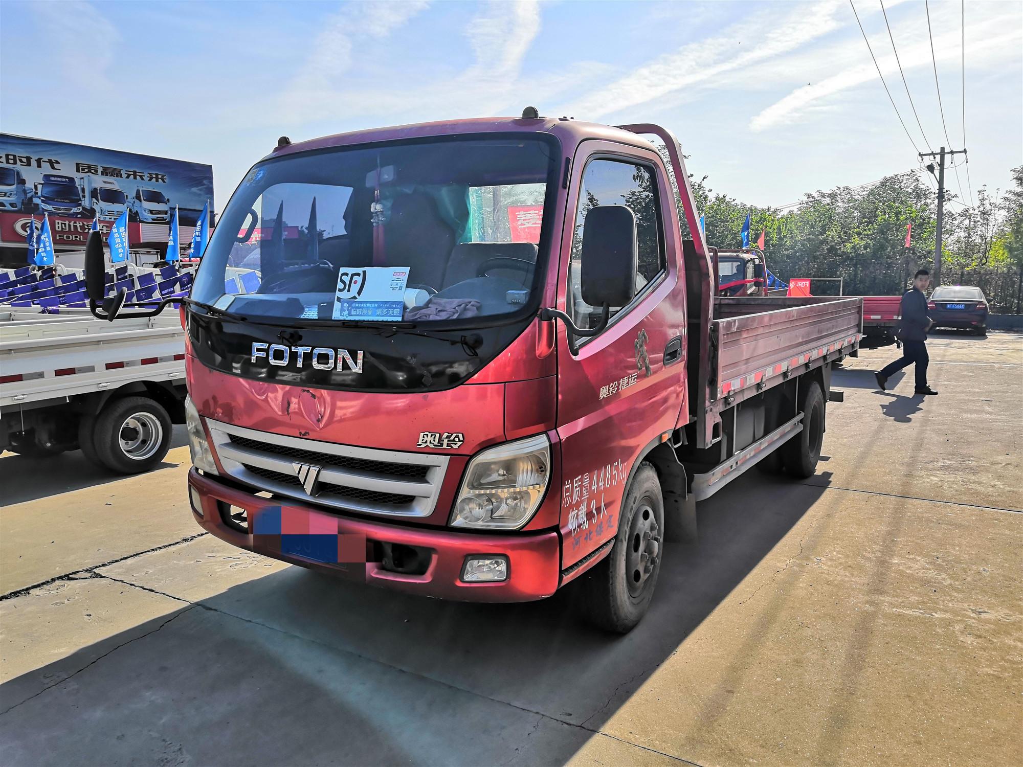 福田奥铃奥铃捷运 载货车  103匹 2012年05月 4x2