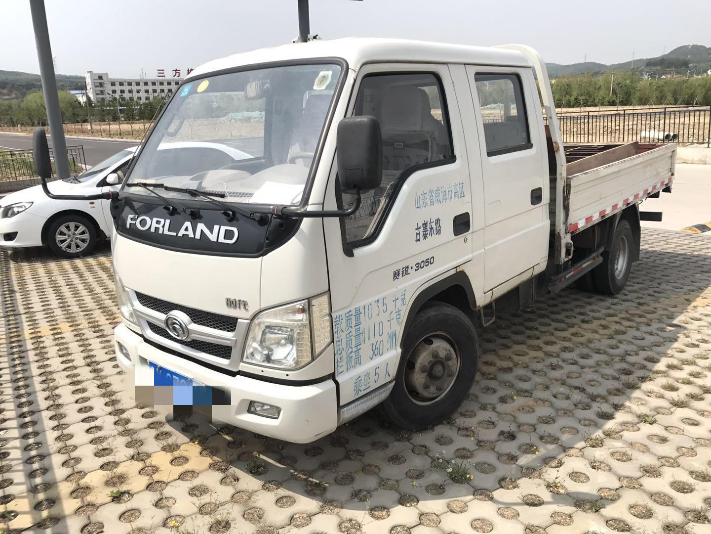北汽福田其他車系 載貨車  80匹 2013年07月 4x2