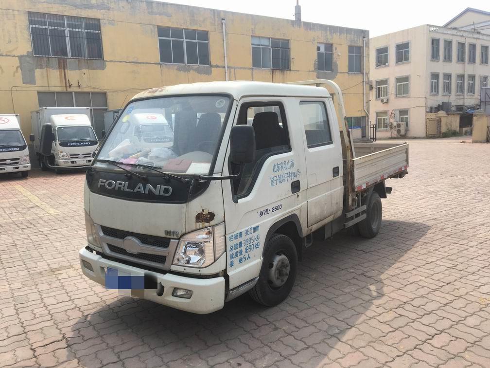 北汽福田 載貨車  50匹 2012年12月 4x2