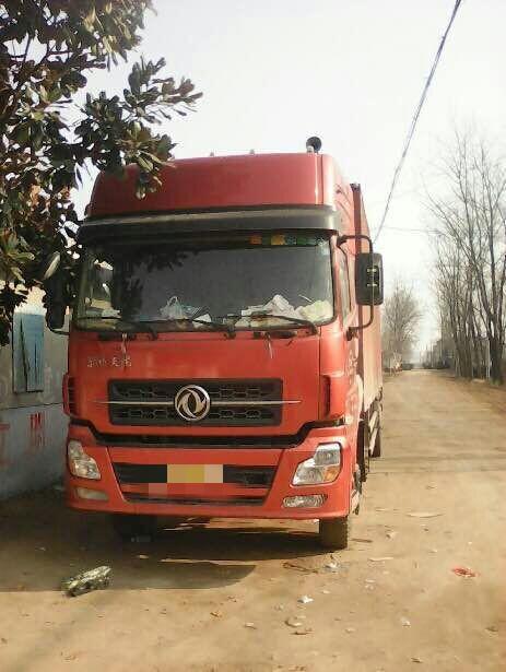东风天龙 载货车  290匹 2014年01月 4x2