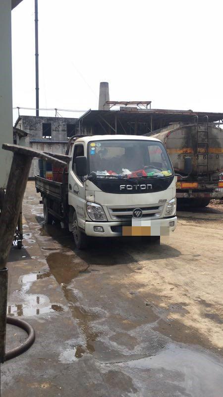 福田奥铃奥铃捷运 载货车  140匹 2015年06月 4x2