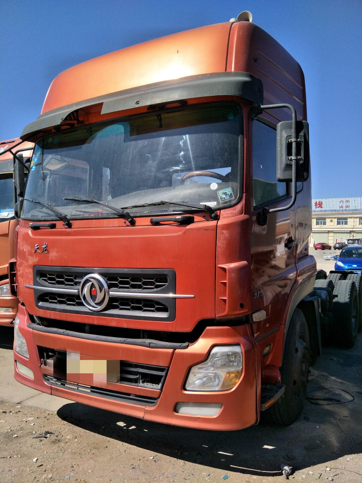 东风天龙 牵引车  375匹 2010年04月 6x4