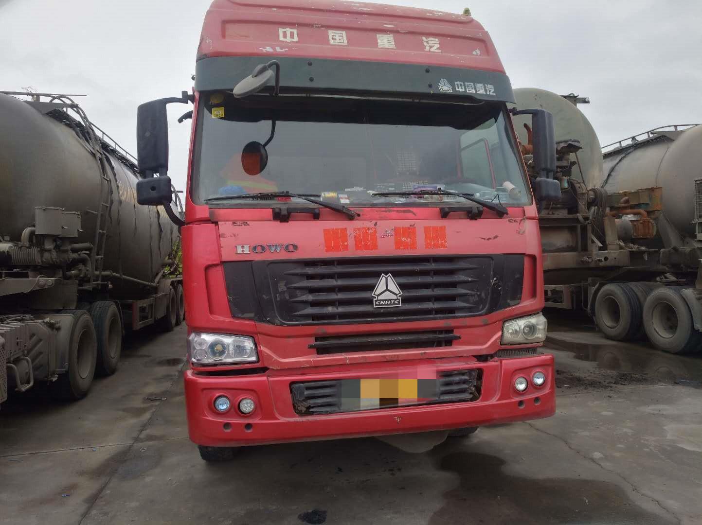 中國重汽HOWO 牽引車  380匹 2011年04月 6x4