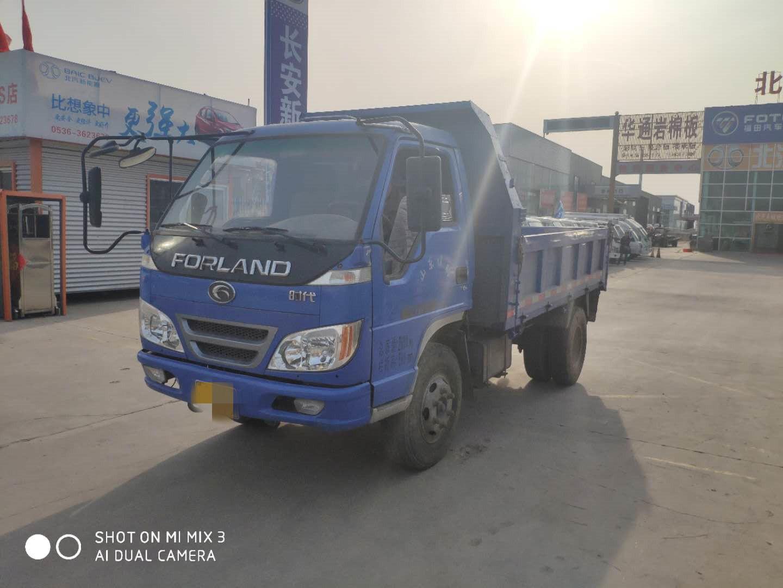 时代驭菱 载货车  160匹 2016年12月 4x2