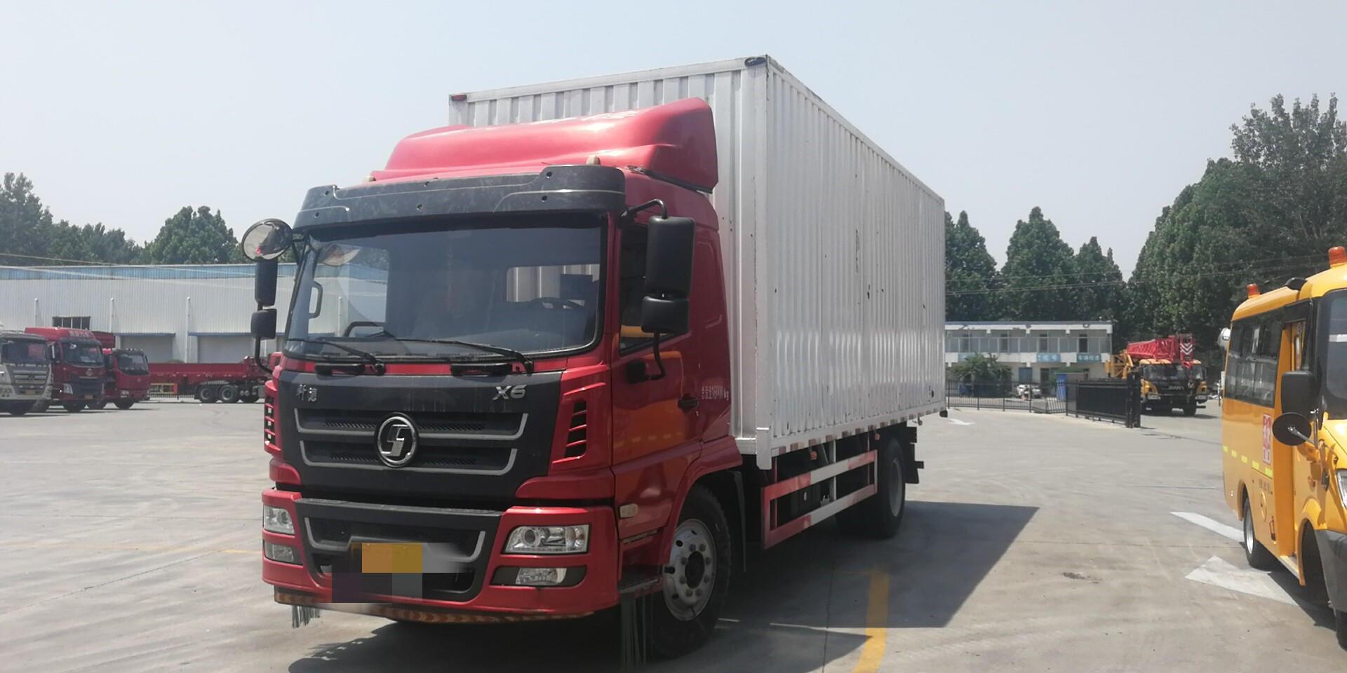 陕汽轩德 载货车  160匹 2017年06月 4x2
