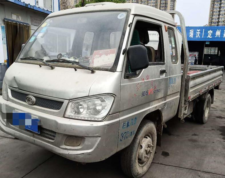 北汽福田其他车系 载货车  110匹 2012年10月 4x2