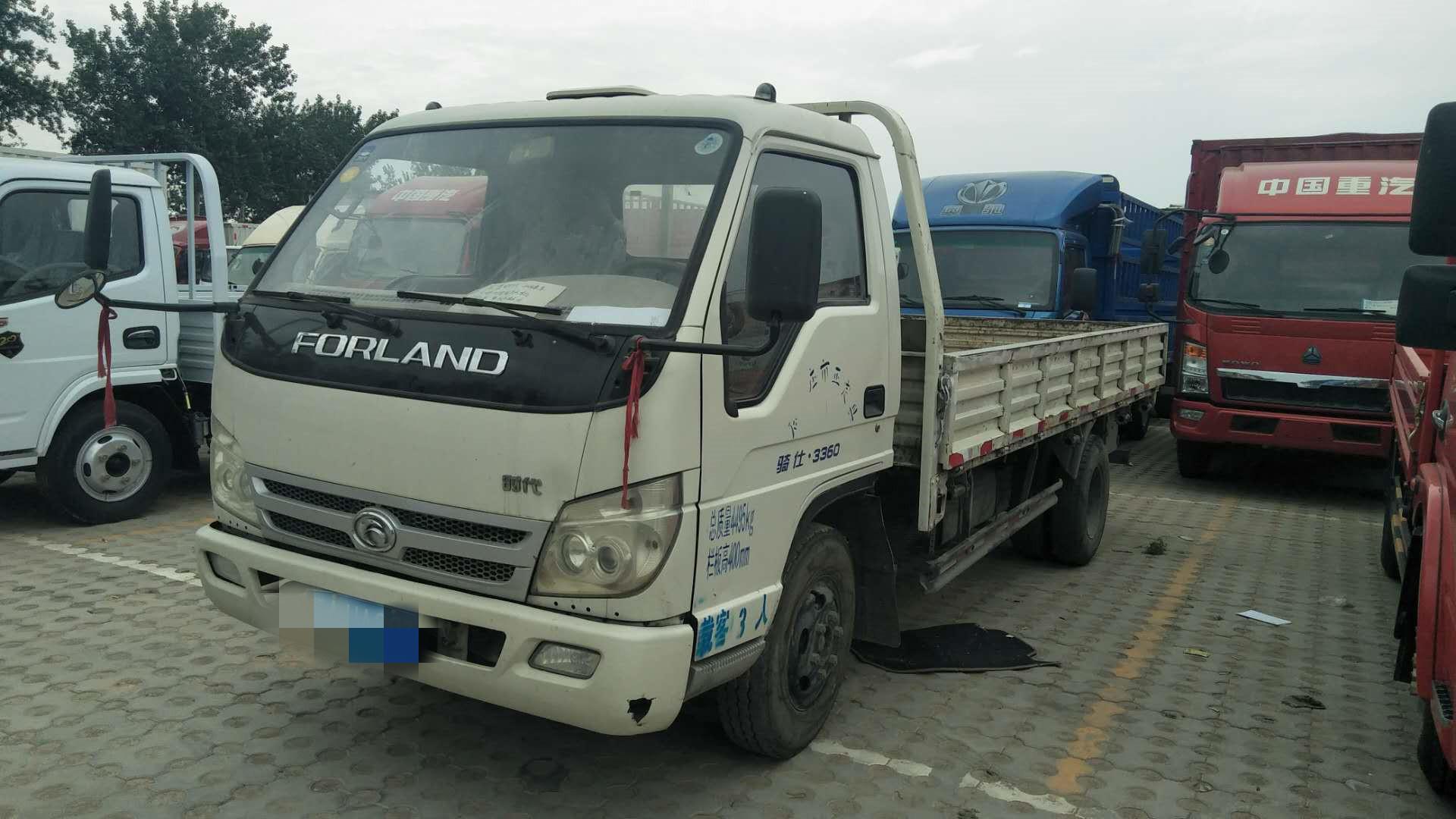 北汽福田其他车系 载货车  102匹 2013年09月 4x2