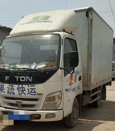 福田欧曼其他车系 载货车  88匹 2009年11月 4x2