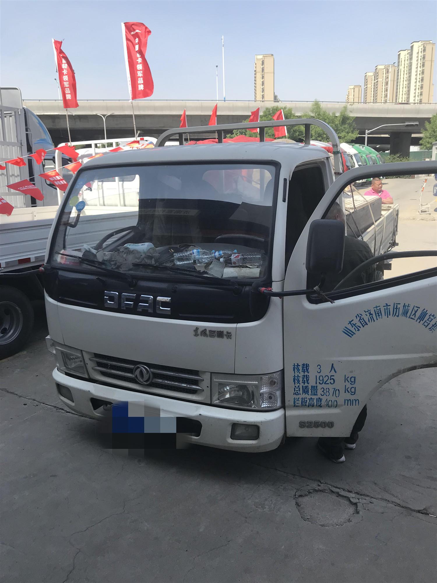 东风多利卡多利卡D5 载货车  129匹 2012年12月 4x2