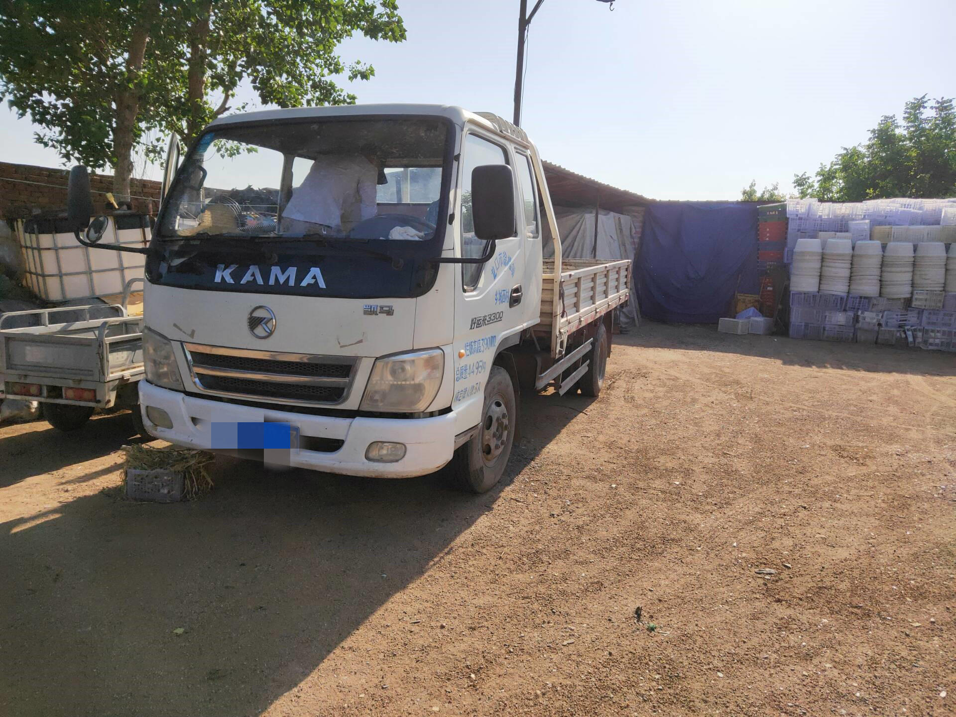 凯马凯捷 载货车  91匹 2012年06月 4x2