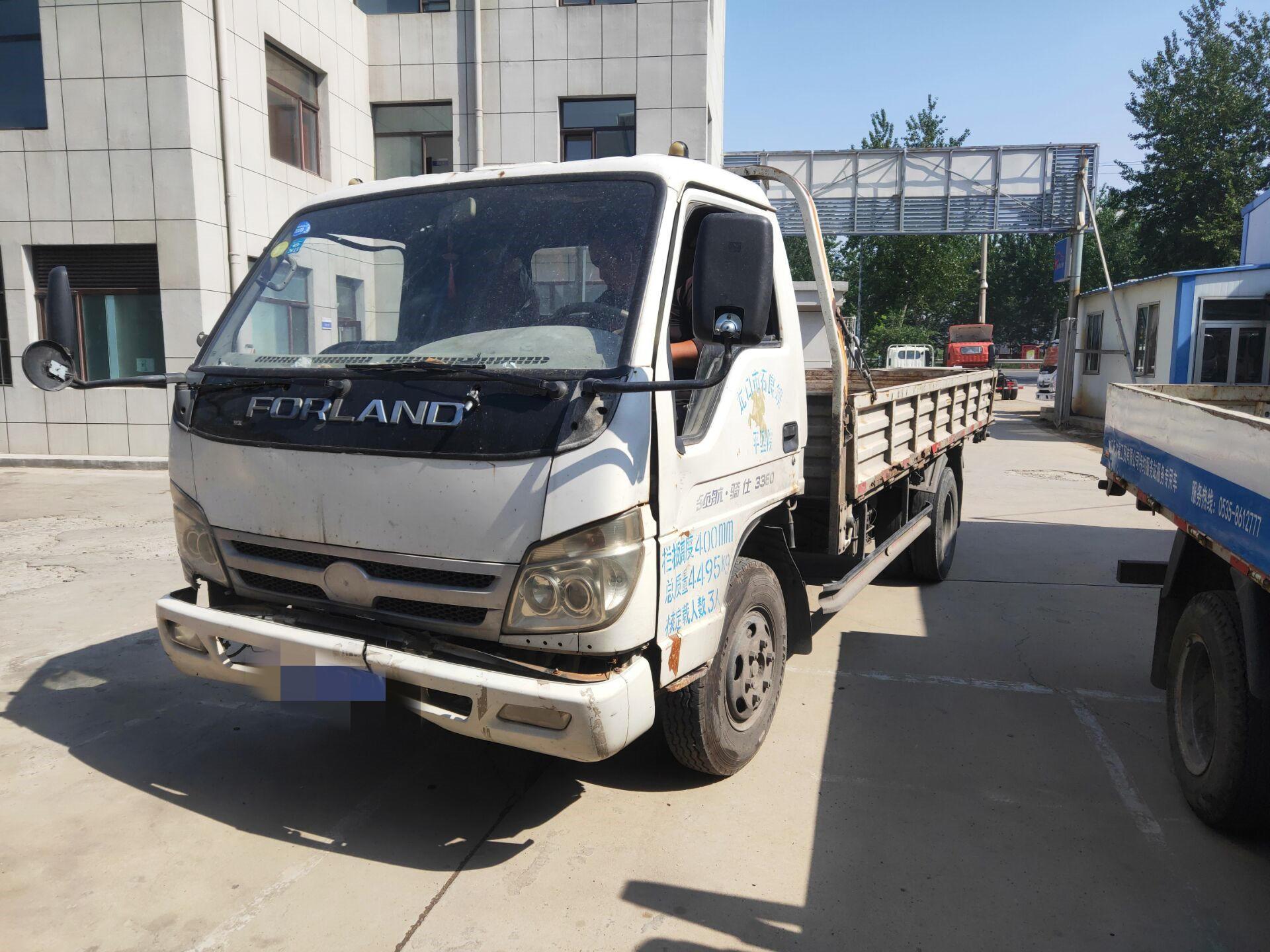 北汽福田其他车系 载货车  96匹 2010年12月 4x2