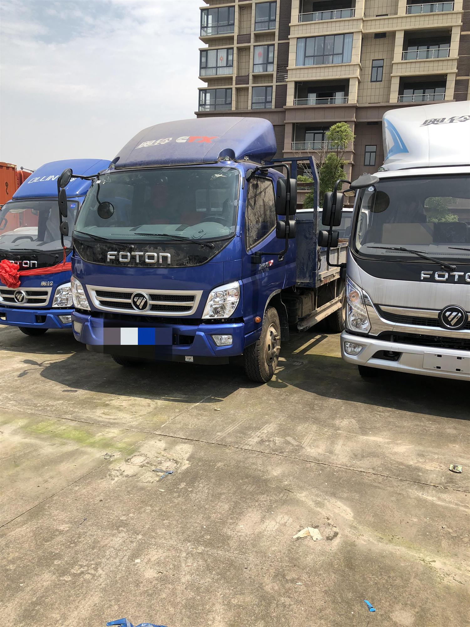 福田奧鈴奧鈴CTX 載貨車  160匹 2018年08月 4x2