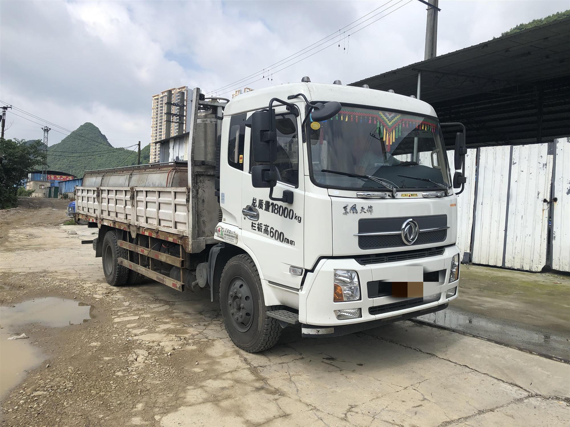 東風天錦 載貨車  180匹 2017年10月 4x2