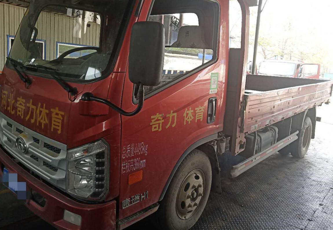 北汽福田其他车系 载货车  140匹 2015年11月 4x2
