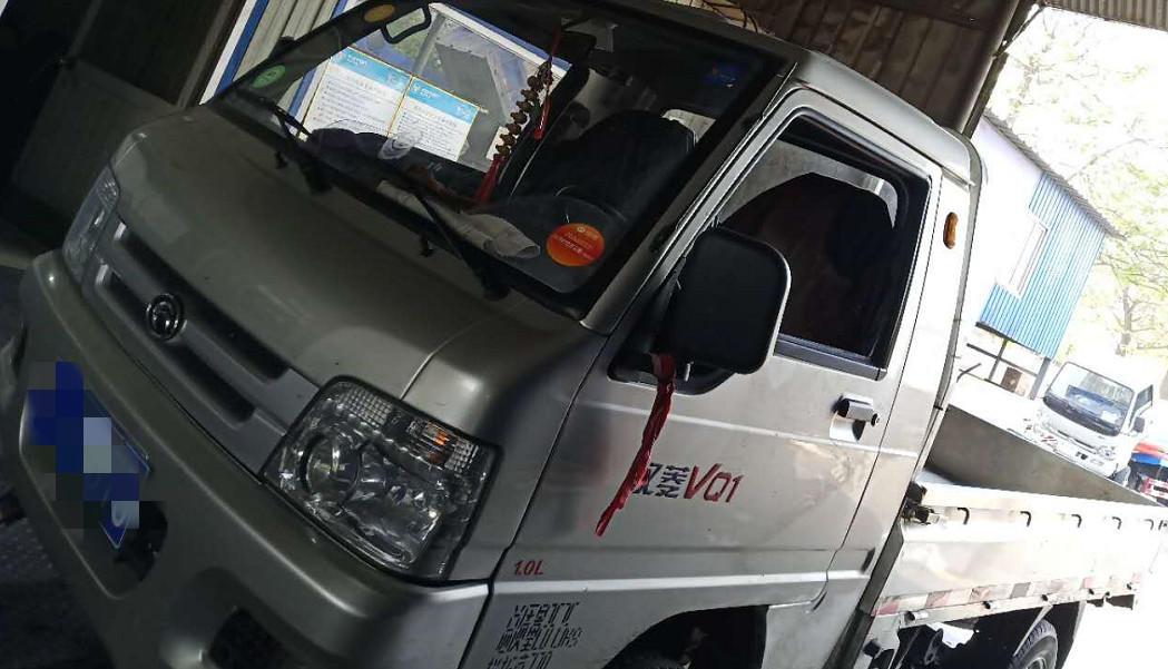 北汽福田其他车系 载货车  100匹 2017年07月 4x2