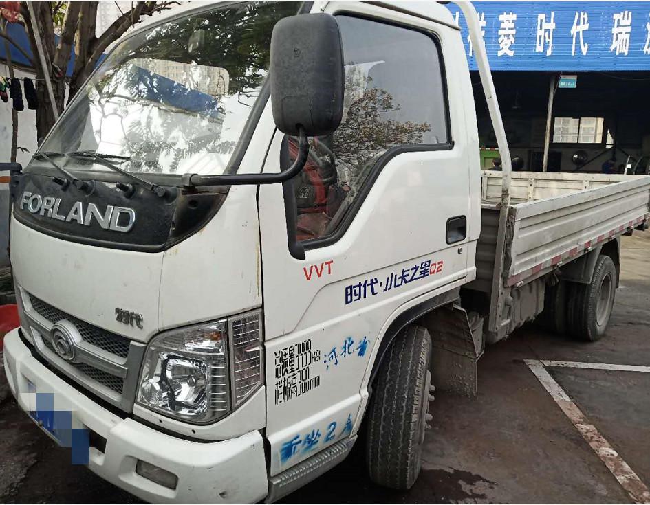 时代小卡之星 载货车  120匹 2017年02月 4x2