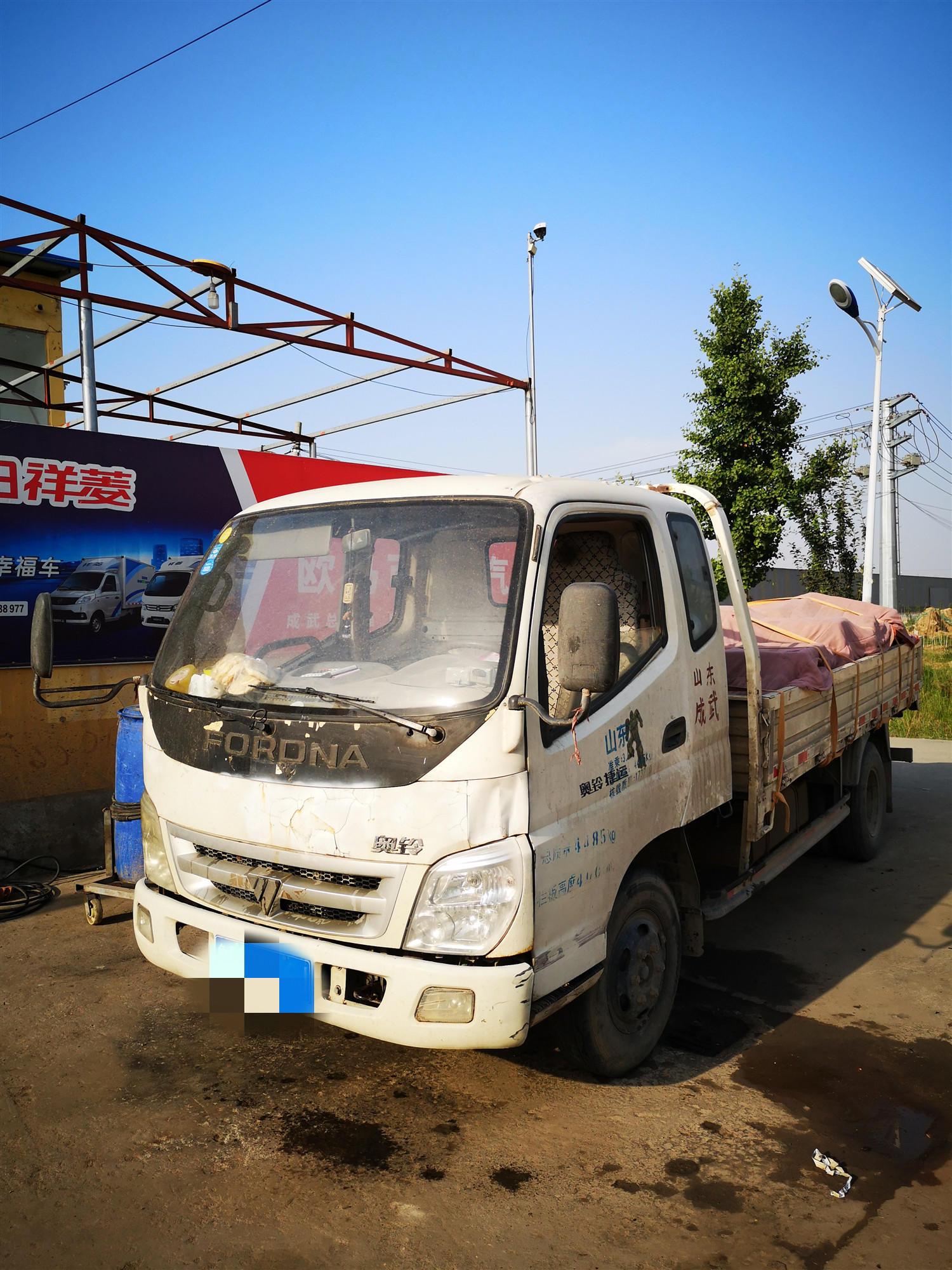福田奧鈴奧鈴捷運 載貨車  95匹 2012年11月 4x2