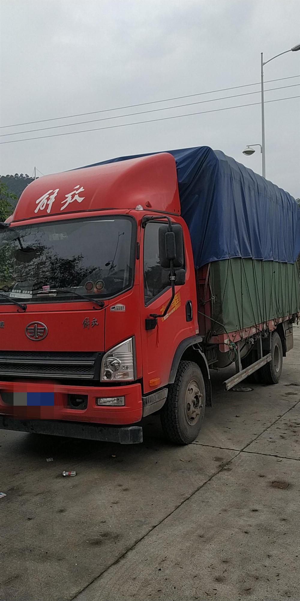 一汽解放其他車系 載貨車  170匹 2019年02月 4x2