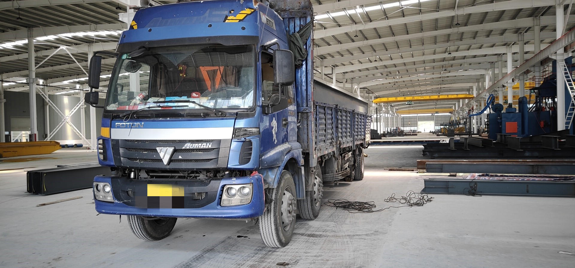 福田欧曼ETX 载货车  240匹 2009年12月 8x2