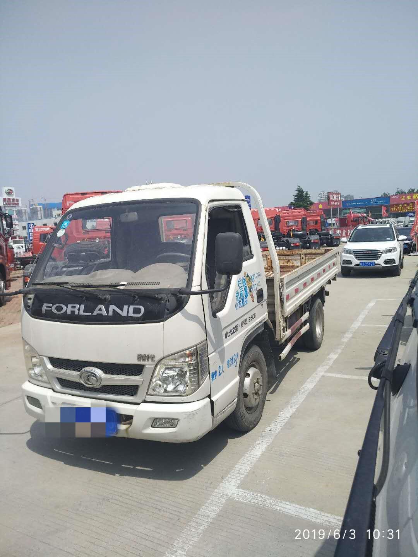 北汽福田其他车系 载货车  80匹 2010年06月 4x2