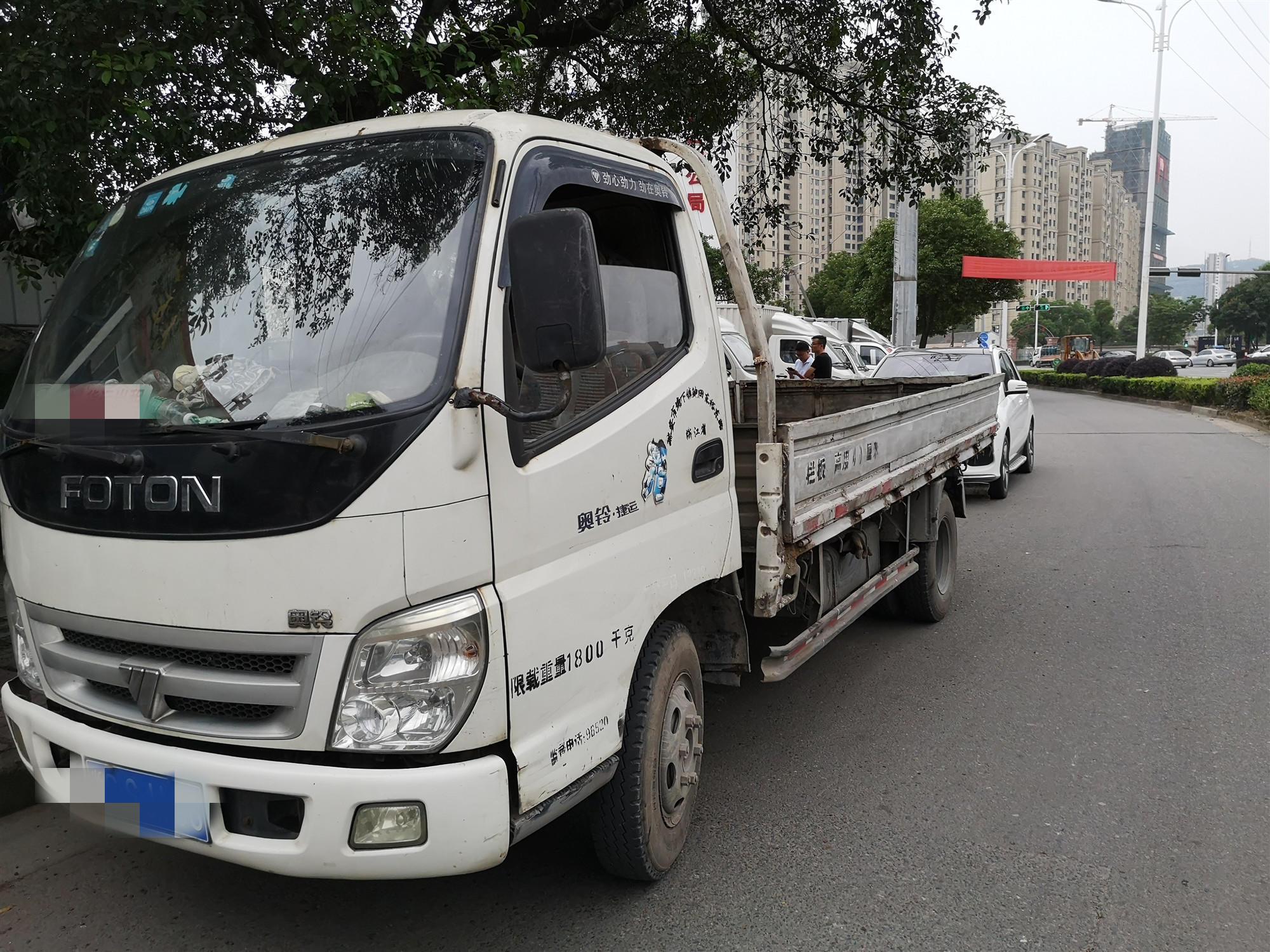 福田奧鈴奧鈴CTX 載貨車  100匹 2008年07月 4x2