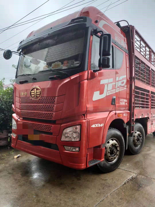 青島解放JH6 載貨車  400匹 2019年05月 8x4