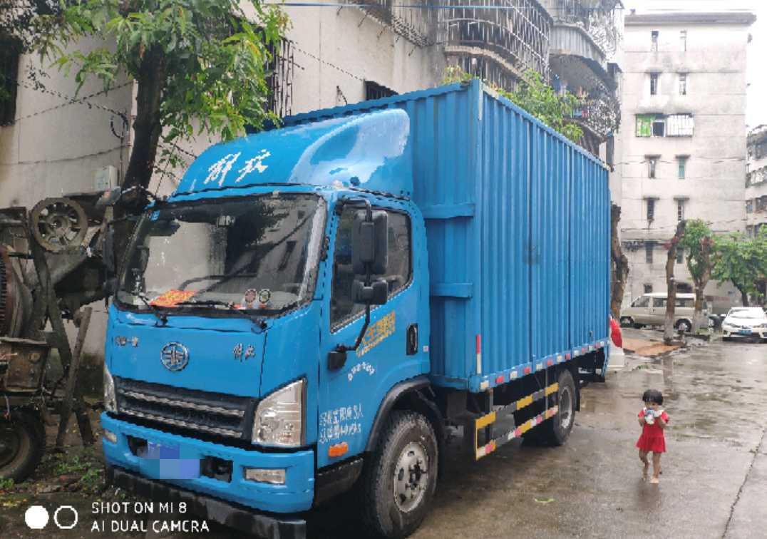 青岛解放其他车系 载货车  160匹 2018年08月 4x2