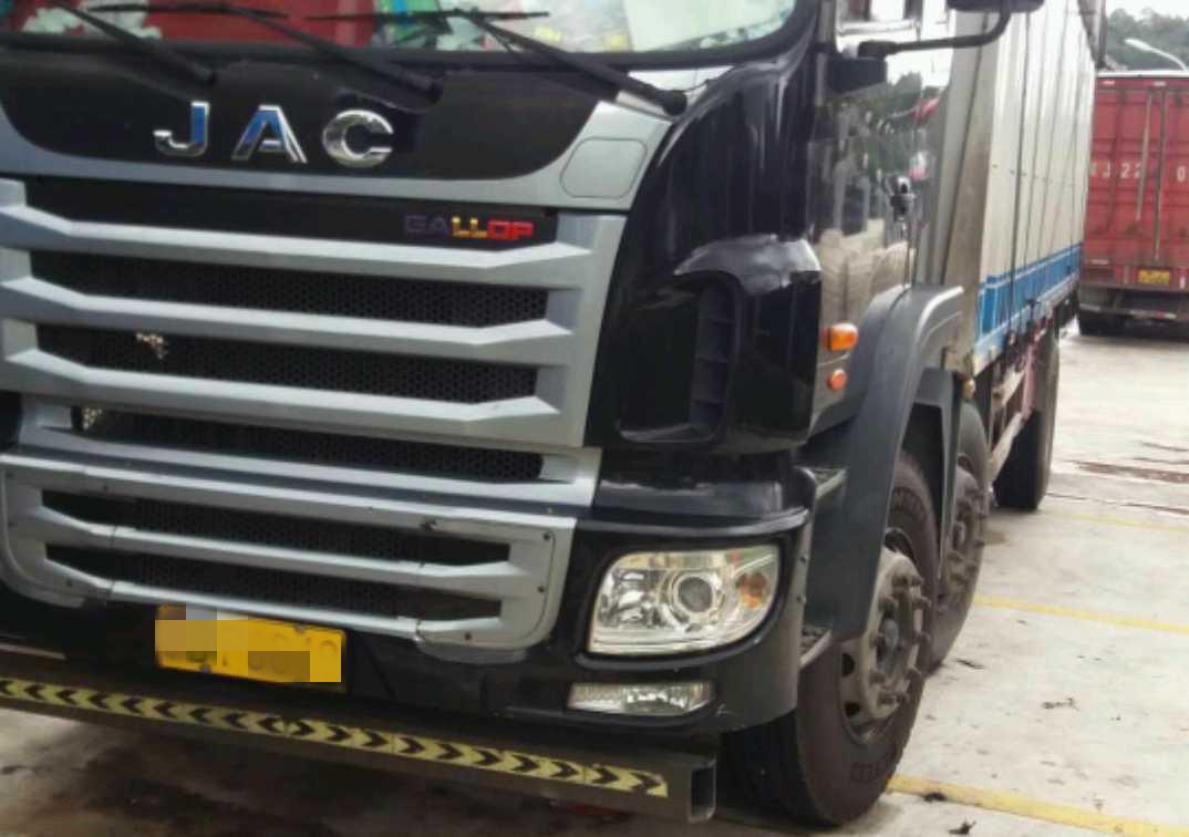 江淮格爾發K5L中卡 豪華型 載貨車  245匹 2016年10月 4x2