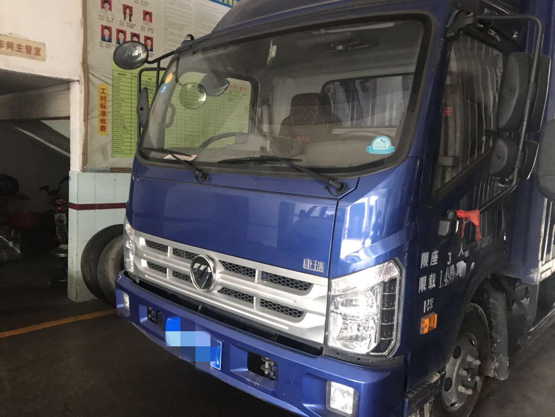 北汽福田其他車系 載貨車  140匹 2018年01月 4x2