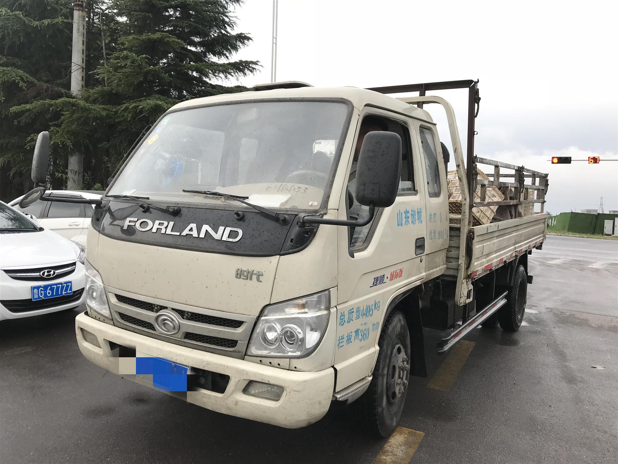 北汽福田其他車系 載貨車  92匹 2013年01月 4x2