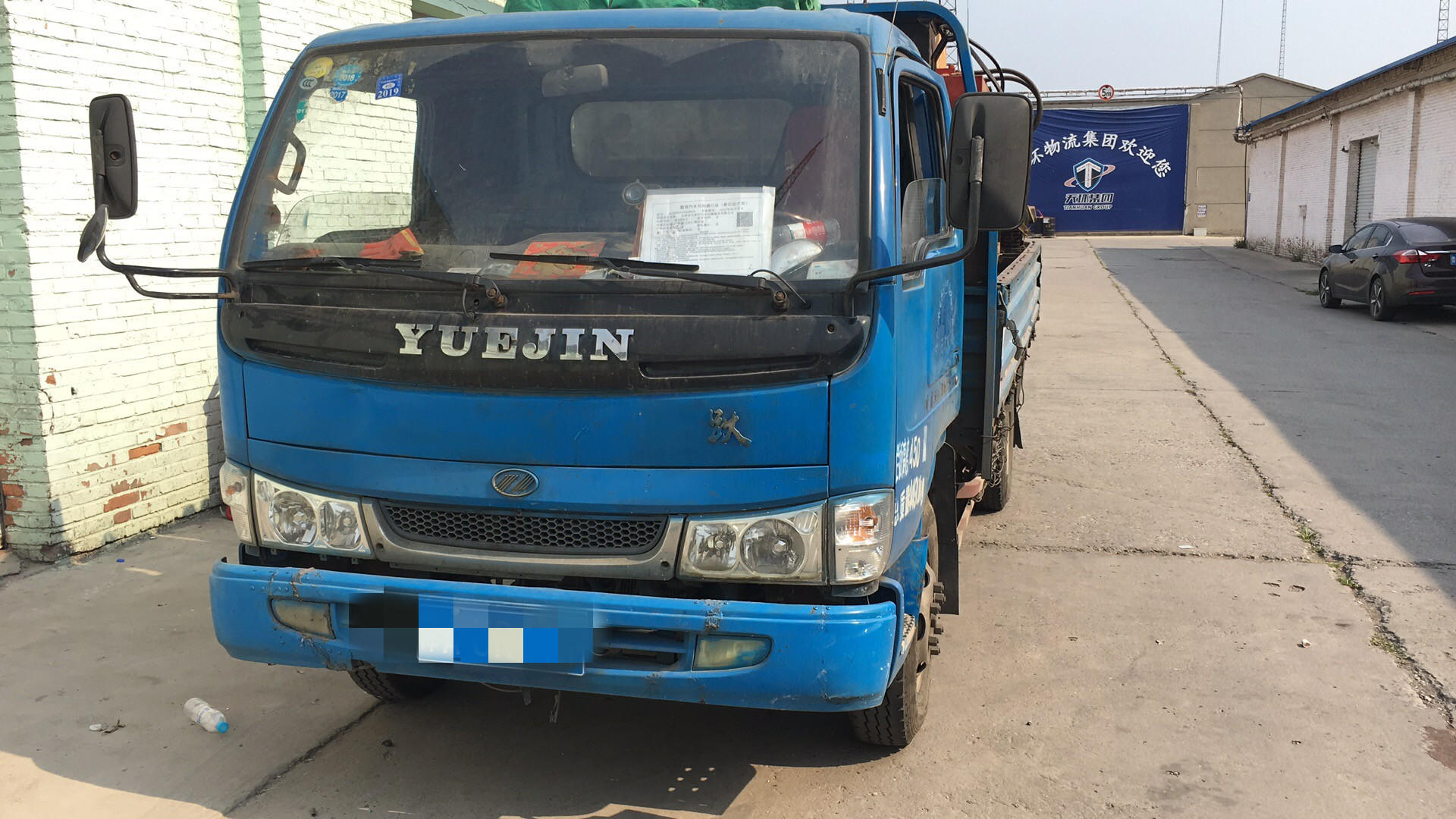 南京依維柯躍進 載貨車  76匹 2011年08月 4x2