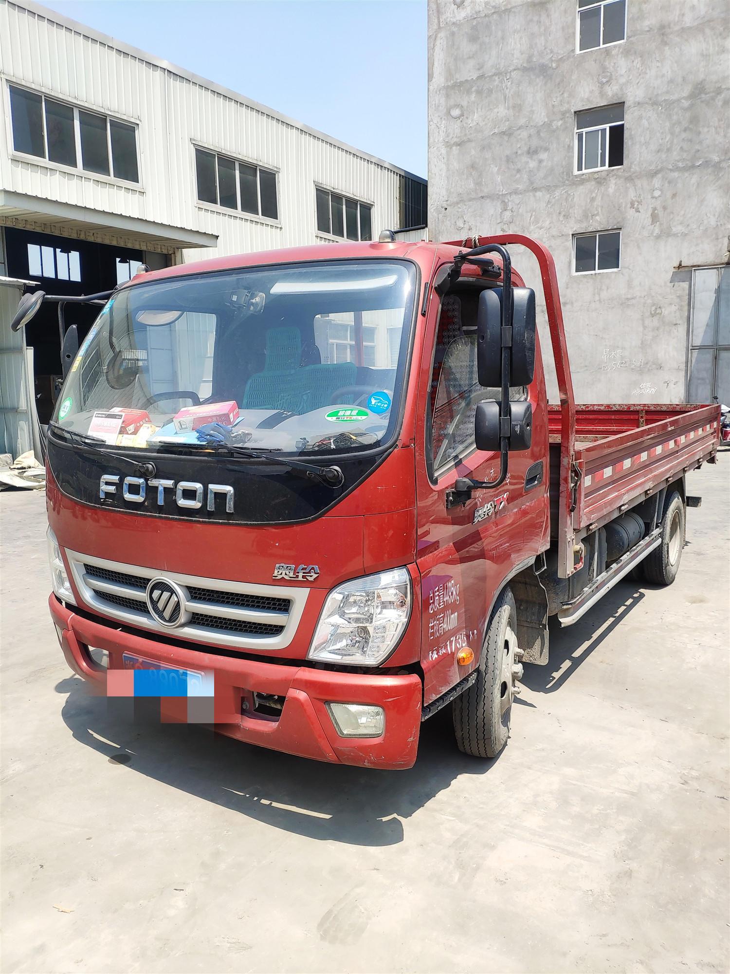 福田奧鈴奧鈴TX 載貨車  110匹 2017年06月 4x2