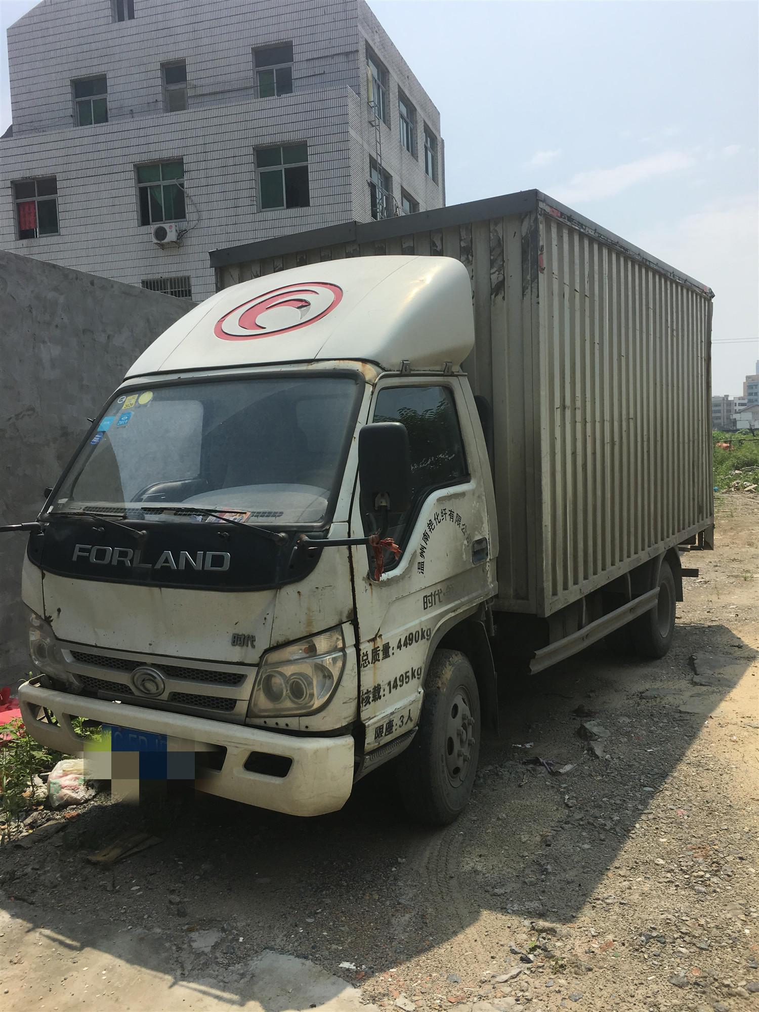 北汽福田其他車系 載貨車  110匹 2014年04月 4x2