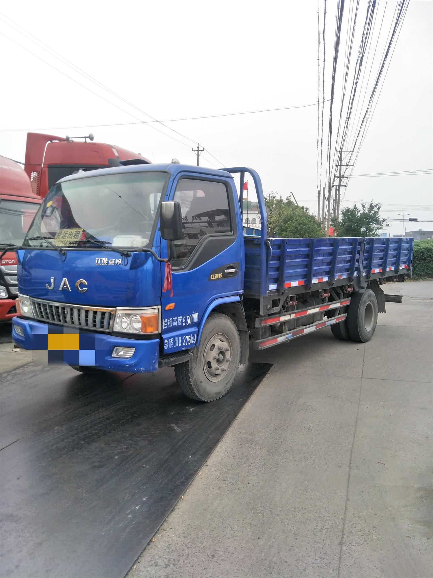 江淮康铃 载货车  141匹 2014年05月 4x2