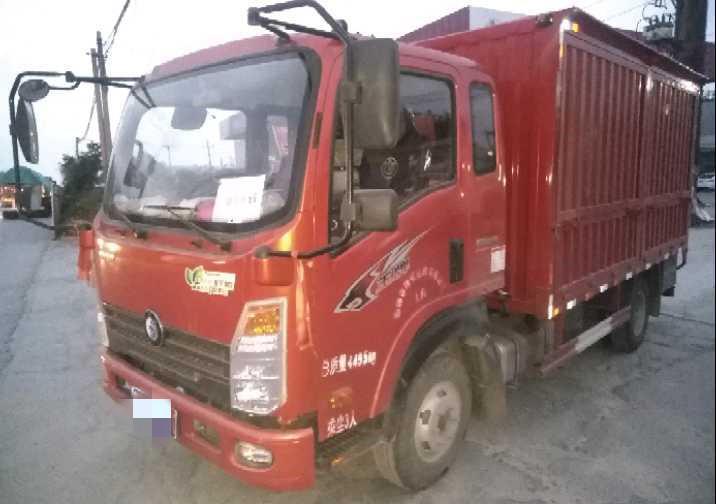 中國重汽王牌 載貨車  116匹 2019年05月 4x2