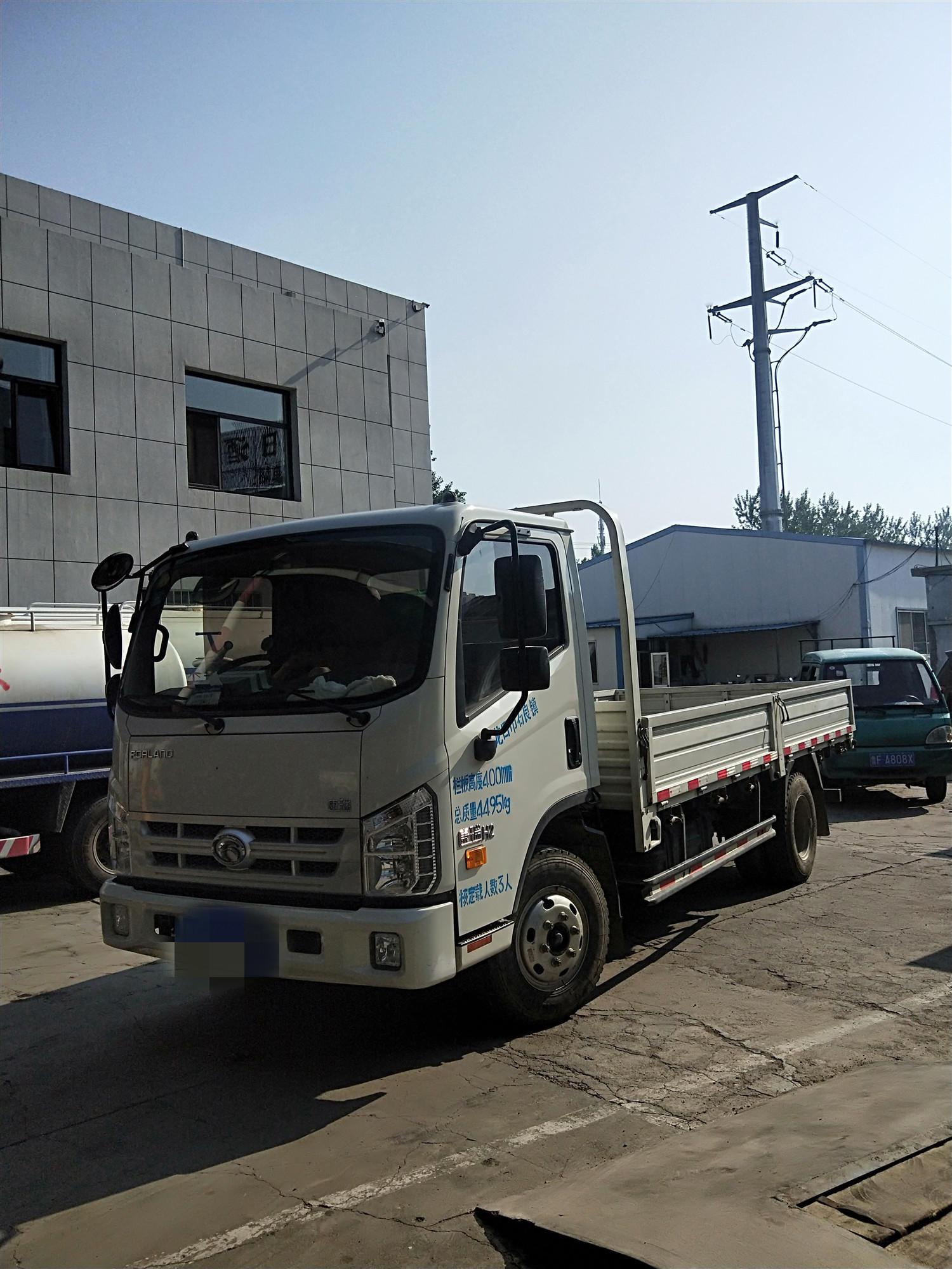北汽福田其他車系 載貨車  115匹 2017年11月 4x2