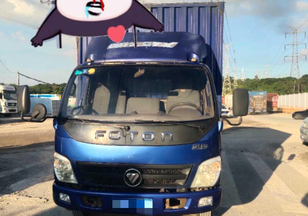 福田歐曼其他車系 載貨車  140匹 2015年10月 4x2