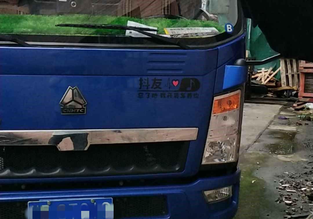 中国重汽HOWO 载货车  116匹 2018年10月 4x2