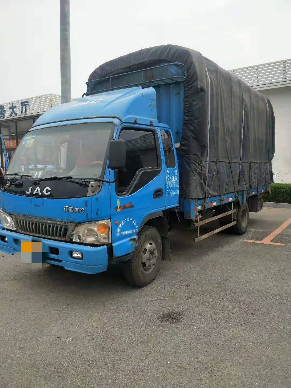 江淮骏铃骏铃E5 载货车  154匹 2012年06月 4x2