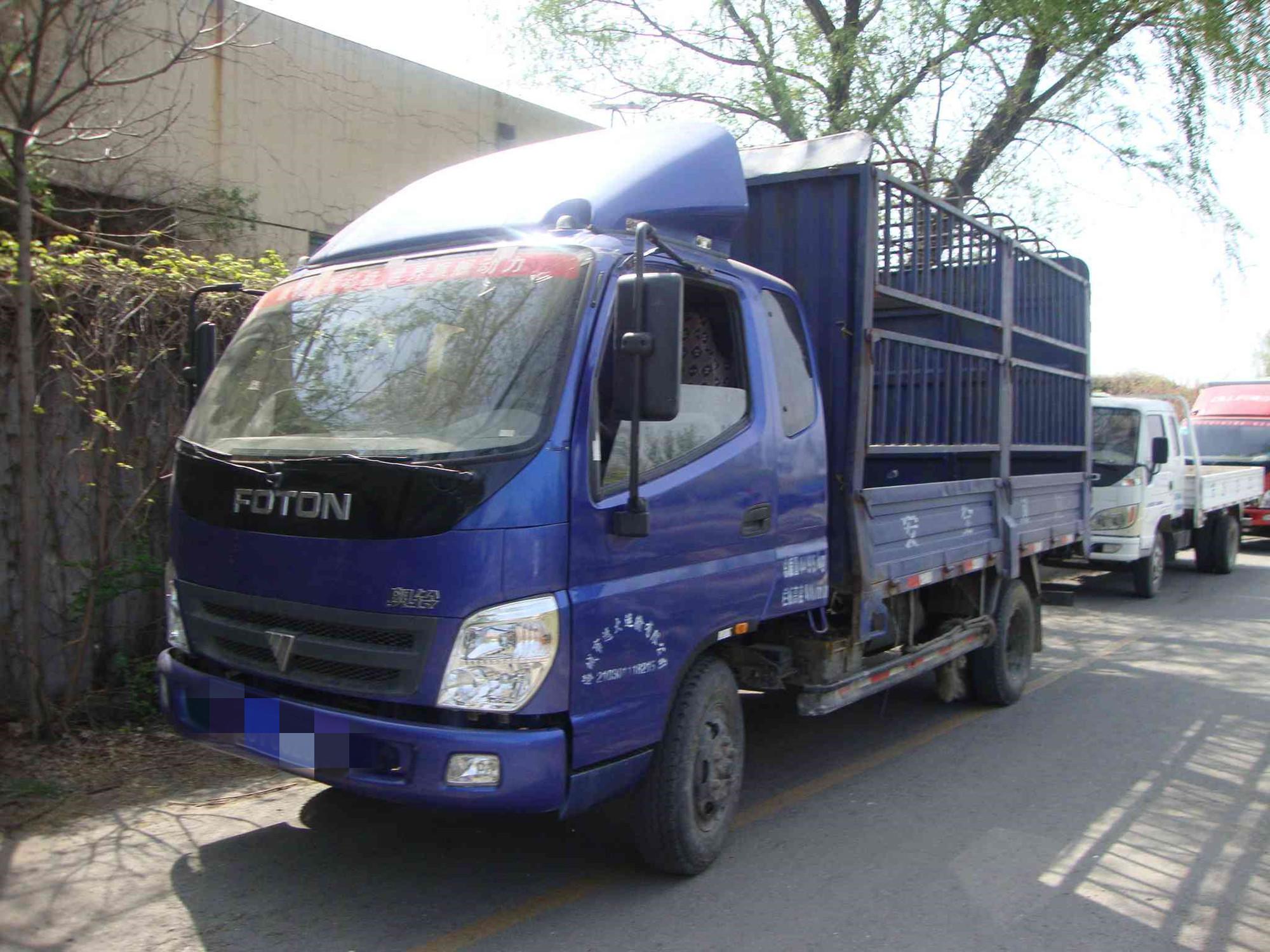 福田奥铃奥铃捷运 载货车  140匹 2011年05月 4x2
