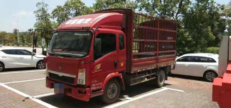 中國重汽中國重汽HOKA 載貨車  160匹 2014年10月 4x2