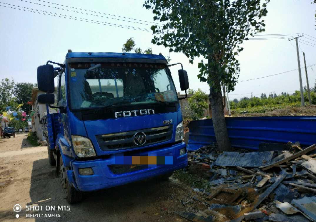 福田歐曼其他車系 載貨車  160匹 2013年04月 4x2