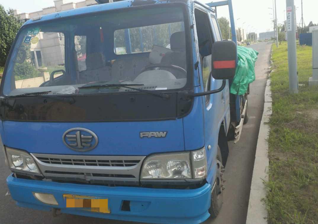 一汽解放J6L中卡 標載型 載貨車  170匹 2010年10月 4x2