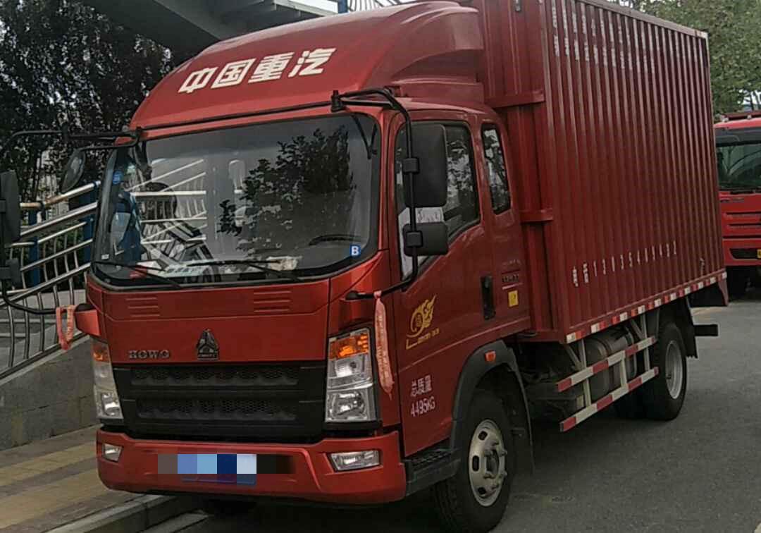 中國重汽悍將 載貨車  120匹 2019年03月 4x2