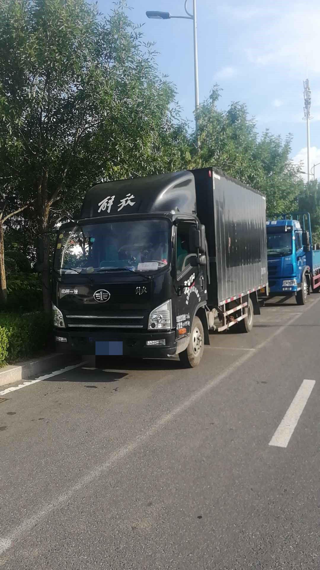青島解放其他車系 載貨車  120匹 2018年09月 4x2