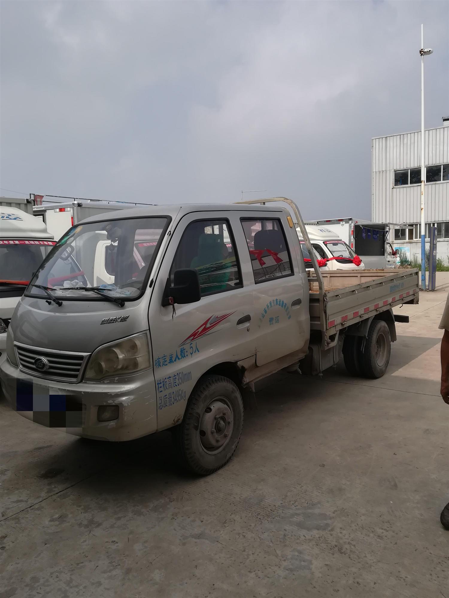 北汽黑豹黑豹Q3 載貨車  68匹 2013年09月 4x2