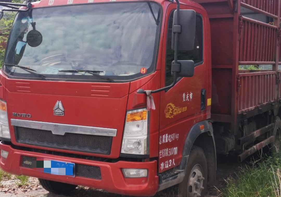 中国重汽HOWO 载货车  173匹 2018年09月 4x2