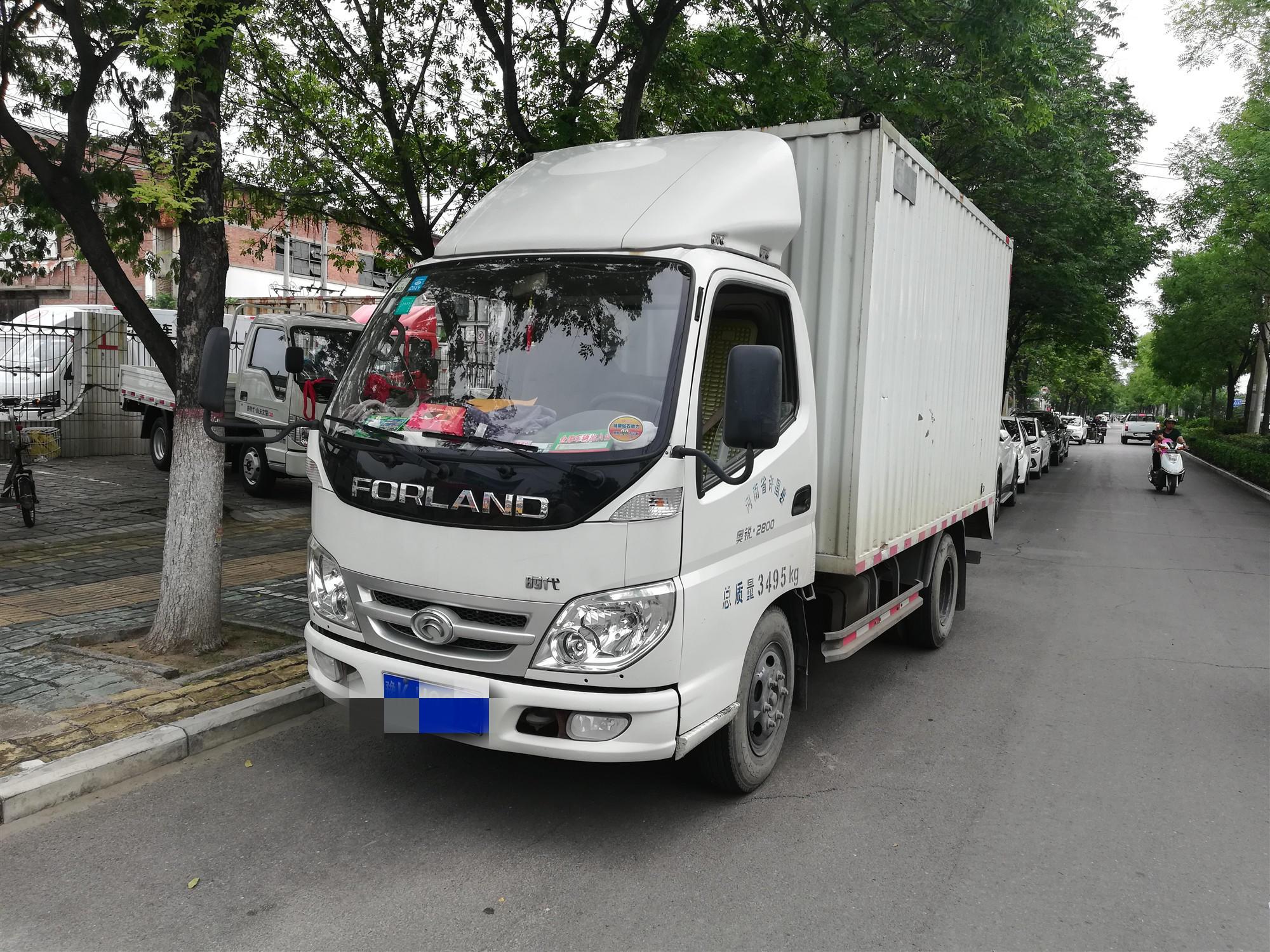 北汽福田其他車系 載貨車  110匹 2012年04月 4x2